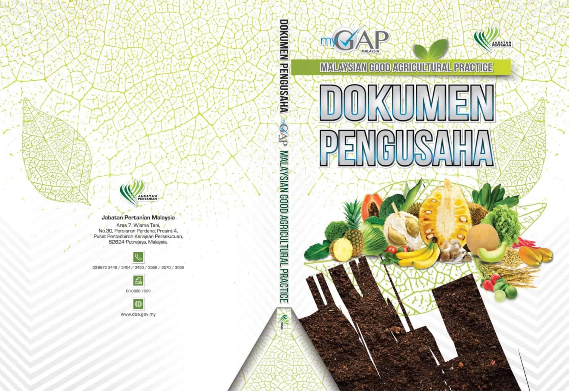 Jabatan Pertanian Dedahkan Prosedur Permohonan myGAP 1